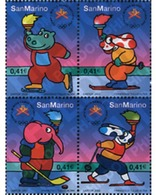 Ref. 4840 * MNH * - SAN MARINO. 2002. XIX OLYMPIC WINTER GAMES. SALT LAKE CITY 2002 . 19 JUEGOS OLIMPICOS INVIERNO. SALT - Winter 2002: Salt Lake City