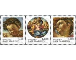 Ref. 140997 * MNH * - SAN MARINO. 1975. CHRISTMAS . NAVIDAD - Ungebraucht