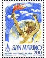 Ref. 141067 * MNH * - SAN MARINO. 1978. 30 ANIVERSARIO DE LOS DERECHOS DEL HOMBRE - Geographie