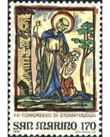 Ref. 141091 * MNH * - SAN MARINO. 1979. 13 CONGRESO DE ESTOMATOLOGIA EN SAN MARINO - Ohne Zuordnung