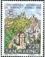 Ref. 141128 * MNH * - SAN MARINO. 1980. CONFERENCIA MUNDIAL DEL TURISMO EN MANILA. - Fotografie