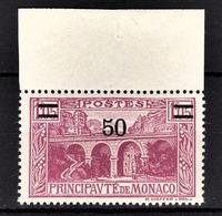 MONACO 1924 / 33  - Y.T. N° 106 - NEUF ** - Monaco