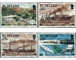 Ref. 61166 * MNH * - ST. HELENA. 1999. CENTENARIO DE LA COMPAÑIA CABLE & WIRELES - Isla Sta Helena