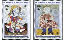 Ref. 361262 * MNH * - SAO TOME AND PRINCIPE Islands. 1981. 100 ANIVERSARIO DEL NACIMIENTO DE PABLO RUIZ PICASSO (1881-19 - Sao Tome And Principe