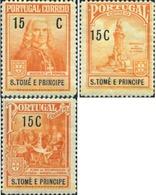 Ref. 360720 * MNH * - SAO TOME AND PRINCIPE Islands. 1925. RECONSTRUCCION DE LISBOA - São Tomé Und Príncipe