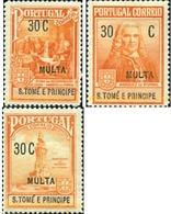 Ref. 361309 * MNH * - SAO TOME AND PRINCIPE Islands. 1925. MULTA - São Tomé Und Príncipe