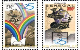 Ref. 193985 * MNH * - SENEGAL. 1999. 125th ANNIVERSARY OF THE UNIVERSAL POSTAL UNION . 125 ANIVERSARIO DE LA UNION POSTA - Senegal (1960-...)