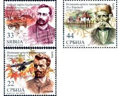 Ref. 289986 * MNH * - SERBIA. 2012. ESCRITORES FAMOSOS - Serbia