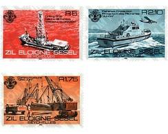 Ref. 57944 * MNH * - SEYCHELLES. Zil Eloigne Sesel. 1982. ISLAND ACTIVITIES . ACTIVIDADES EN LAS ISLAS - Eisenbahnen