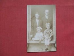RPPC  Family Photo   > Ref 3511 - To Identify