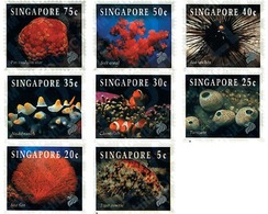 Ref. 91982 * MNH * - SINGAPORE. 1994. MARINE FAUNA . FAUNA MARINA - Singapore (1959-...)