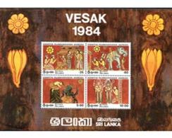 Ref. 300289 * MNH * - SRI LANKA. 1984. FESTIVAL DE VESAK. - Sri Lanka (Ceylon) (1948-...)