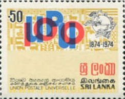 Ref. 301904 * MNH * - SRI LANKA. 1974. UPU . UPU - U.P.U.