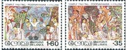 Ref. 302021 * MNH * - SRI LANKA. 1980. PAINTING . PINTURA - Arte