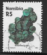 Namibia Scott # 689 Used Willemite, 1991 - Namibia (1990- ...)