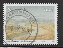 Namibia Scott # 737 Used Moon Landscape, 1993 - Namibia (1990- ...)