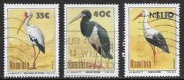 Namibia Scott # 766-7,769 Used Birds, 1994 - Namibia (1990- ...)