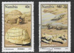 Namibia Scott # 779,782 Used Fossils, 1995 - Namibia (1990- ...)