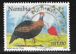 Namibia Scott # 845 Used Guineafowl, 1997 - Namibia (1990- ...)