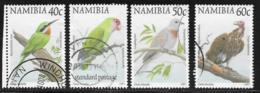 Namibia Scott # 857-60 Used Birds, 1997 - Namibia (1990- ...)