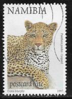 Namibia Scott # 864 Used Leopard,1997 - Namibia (1990- ...)