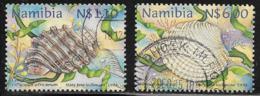Namibia Scott # 904,906 Used Shells,1998 - Namibia (1990- ...)