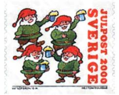 Ref. 364282 * MNH * - SWEDEN. 2000. CHRISTMAS SONGS . CANCIONES DE NAVIDAD - Nuovi