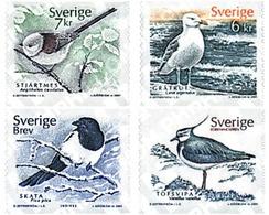 Ref. 86395 * MNH * - SWEDEN. 2001. BIRDS . AVES - Sin Clasificación
