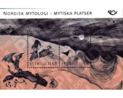 Ref. 220750 * MNH * - SWEDEN. 2008. NORDEN-SWEDISH MYTHOLOGY . NORDEN-MITOLOGIA SUECA - Nuovi