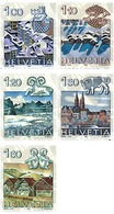 Ref. 128615 * MNH * - SWITZERLAND. 1982. THE ZODIAC AND LANSCAPES . SIGNOS DEL ZODIACO Y PAISAJES - Astrologia