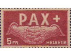 Ref. 598466 * HINGED * - SWITZERLAND. 1945. LA PAZ SET . SERIE DE LA PAZ - Nuevos