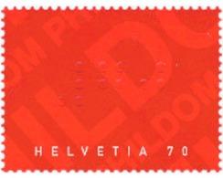 Ref. 120119 * MNH * - SWITZERLAND. 2003. CENTENARY OF SWISS CENTRAL UNION IN FAVOUR OF BLIND PERSONS . CENTENARIO DE LA - Switzerland