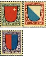 Ref. 127434 * MNH * - SWITZERLAND. 1920. PRO JUVENTUTE. COAT OF ARMS . PRO JUVENTUD. ESCUDOS - Svizzera
