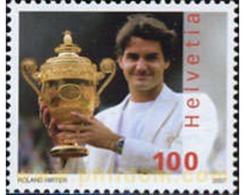 Ref. 202662 * MNH * - SWITZERLAND. 2007. ROGER FEDERER, TENNIS PLAYER . ROGER FEDERER, TENISTA - Suisse