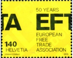Ref. 254109 * MNH * - SWITZERLAND. 2010. 50 ANIVERSARIO DE EFTA - European Ideas
