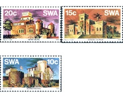 Ref. 243876 * MNH * - SOUTH WEST AFRICA. 1976. CASTLES . CASTILLOS - Zuidwest-Afrika (1923-1990)