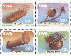 Ref. 363435 * MNH * - SOUTH WEST AFRICA. 1985. MUSIC INSTRUMENTS . INSTRUMENTOS DE MUSICA - Zuidwest-Afrika (1923-1990)
