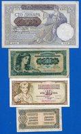 Yougoslavie  9  Billets - Yugoslavia