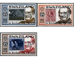 Ref. 59058 * MNH * - SWAZILAND. 1979. CENTENARY OF THE DEATH OF SIR ROWLAND HILL . CENTENARIO DE LA MUERTE DE SIR ROWLAN - Eisenbahnen