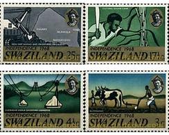 Ref. 60410 * MNH * - SWAZILAND. 1968. INDEPENDENCE . INDEPENDENCIA - Swaziland (1968-...)