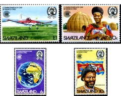 Ref. 246299 * MNH * - SWAZILAND. 1983. COMMONWEALTH'S DAY . DIA DE LA COMMONWEALTH - Airplanes