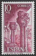 Spain SG2344 1975 San Juan De La Pena Monastery 10p Unmounted Mint [40/32536/6D] - 1971-80 Unused Stamps