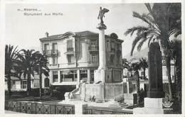 """/ CPSM FRANCE 06 """"Menton, Monument Aux Morts"""" - Menton"""