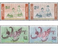 Ref. 609997 * MNH * - THAILAND. 1963. INTERNATIONAL WEEK OF WRITTEN LETTER . SEMANA INTERNACIONAL DE LA CARTA ESCRITA - Tailandia