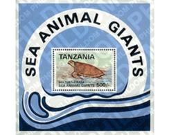 Ref. 69710 * MNH * - TANZANIA. 1993. GRANDES ANIMALES MARINOS - Tanzania (1964-...)