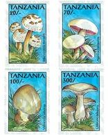 Ref. 365273 * MNH * - TANZANIA. 1993. MUSHROOMS . SETAS - Tanzania (1964-...)