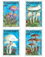 Ref. 365277 * MNH * - TANZANIA. 1993. MUSHROOMS . SETAS - Tanzania (1964-...)