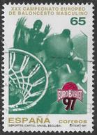 Spain SG3435 1997 European Basketball Championship 65p Good/fine Used [40/32537/6D] - 1931-Today: 2nd Rep - ... Juan Carlos I