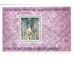 Ref. 92173 * MNH * - TANZANIA. 1992. RIO DE JANEIRO BOTANICAL GARDEN . JARDIN BOTANICO DE RIO DE JANEIRO - Tanzania (1964-...)