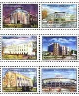 Ref. 178264 * MNH * - TAJIKISTAN. 2004. BUILDINGS . EDIFICIOS - Other